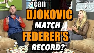 Can Djokovic Match Federer's Grand Slam Record?