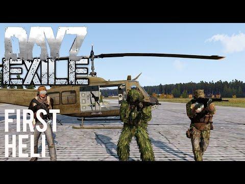ARMA 3 Exile 🚁 Starting Up On A New Server  - смотреть