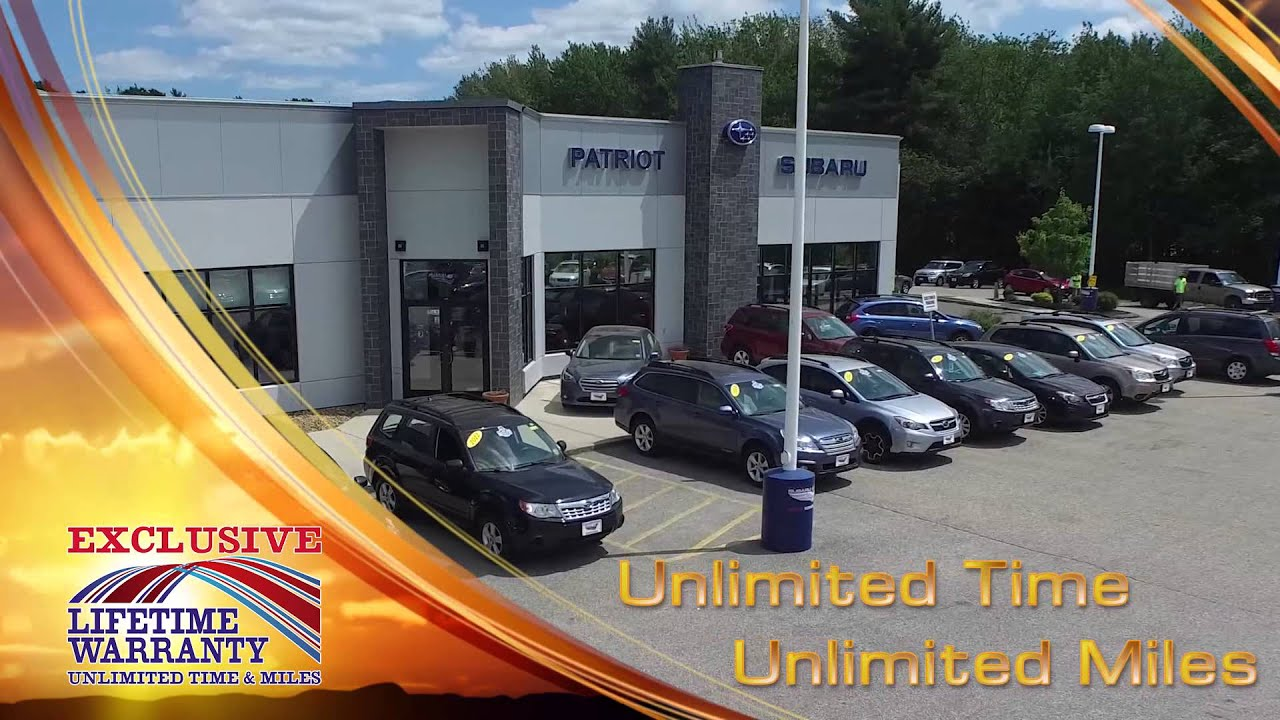 Patriot Subaru - WCSH Closed Captioning