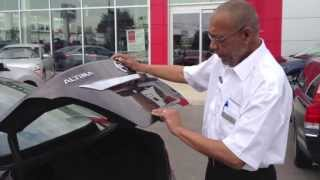 Nissan Altima Intelligent Key - Key In Trunk - Woodchester Nissan