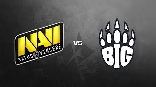 Natus Vincere vs. BIG - ESL One Cologne 2018 (Inferno | Map 4) - Finale
