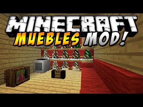 Minecraft - Muebles MOD (Timbre, Radio, T.V, PC & más!) - ESPAÑOL TUTORIAL