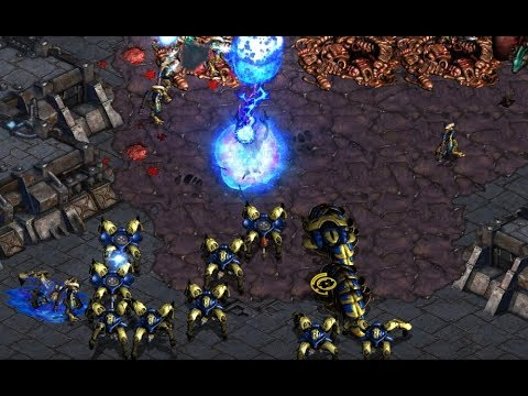 Anytime (P) v Jaedong (Z) on Iacrus 1.1 - StarCraft  - Brood War REMASTERED