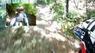 preview picture of video 'Downhill Castelmonte 2014 MTB'