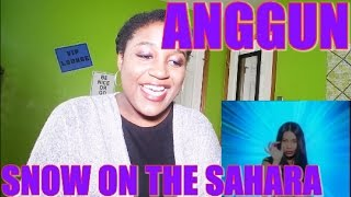 Anggun - Snow On The Sahara | MV REACTION [BEAUTIFUL VOICE!]