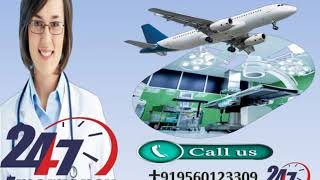 Get Special Medivic Air Ambulance Service in Dimapur and Dibrugarh