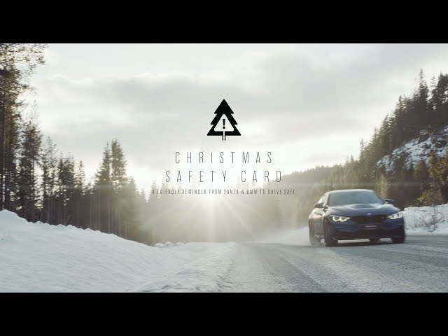 BMW : THE CHRISTMAS SAFETY CARD