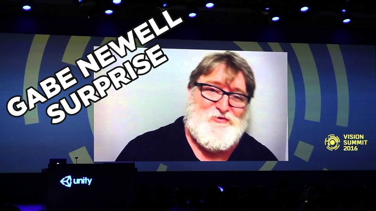 Gabe Newell Turns Into Santa, Gives Out HTC Vives
