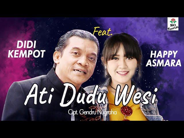Didi Kempot feat. Happy Asmara - Ati Dudu Wesi (Official Video Lyric)