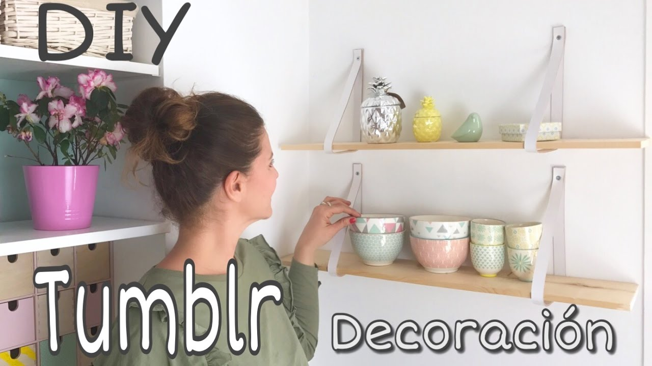 DIY Decoración inspirada en Tumblr
