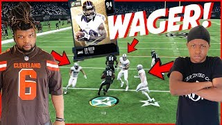 94 ED REED WAGER! A Game That Will Have You On The Edge Of Your Seats! (MUT Wars Season 4 Ep.35)