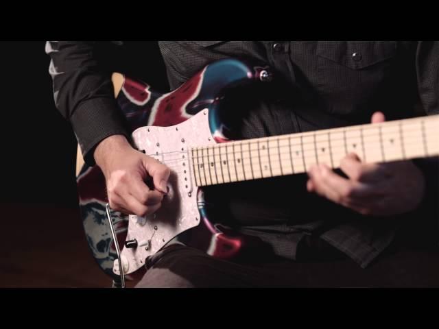 CR Guitars video