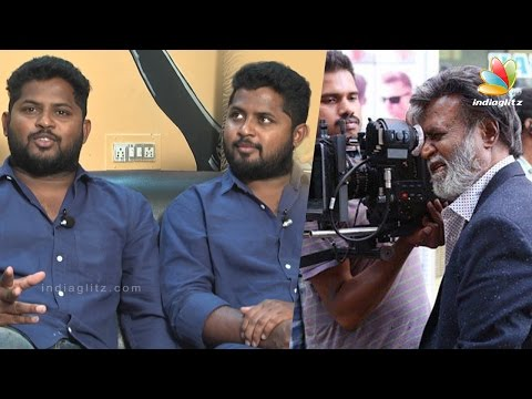 Superstar-Rajini-perform-car-drift-without-dupe--Kabali-Fight-Masters-Interview-Making