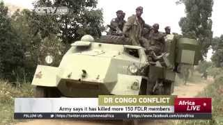 Dr Congo Conflict: Army Says It Has Killed More 150 FDLR Members