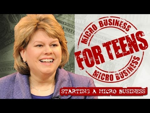 Starting a business for teens agree