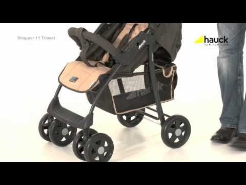 Hauck Shopper Trio Set Travel System Video Review – Online4baby – YouTube