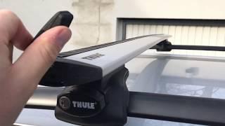 Ersteindruck & Funktion Thule Wingbar 961 m Rapid Fußsatz 757