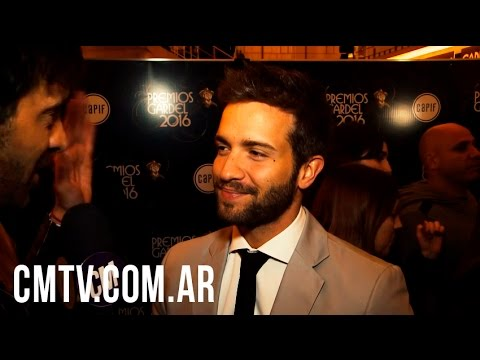 Pablo Alborán video Entrevista CM 2016 - Premios Gardel 2016