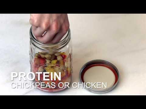 Video How To Make a Mason Jar Salad | Get Healthy U Recipe