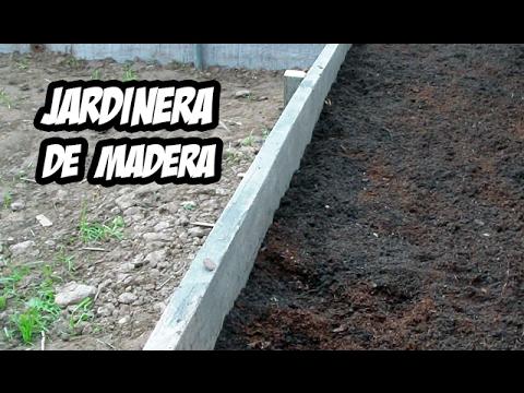 Como Hacer una Jardinera con Madera | Invernadero Casero