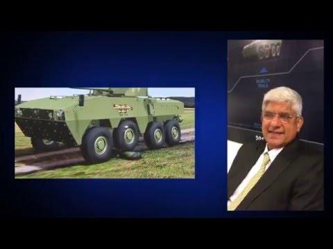 Tata Motors' Vernon Noronha on the DefExpo, DPP & the future