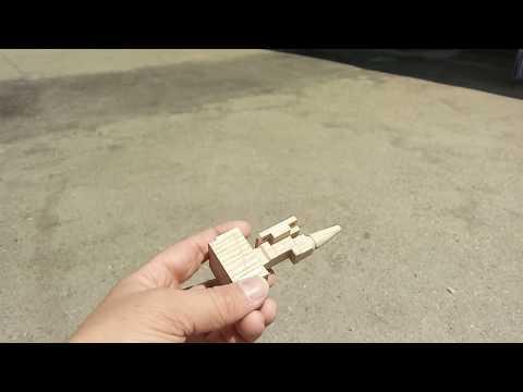 4х осевая фрезеровка сложной модели из бука