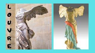 THE LOUVRE: magnificent ANCIENT GREEK STATUES exhibited, PARIS (FRANCE)