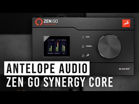 ה-Zen Go Synergy Core - ממשק אודיו מבוסס DSP מ-Antelope Audio