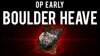 """Dark Souls 3 : Overpowered """"Pyromancer"""" Early (Boulder Heave + Flynn's Ring)"""
