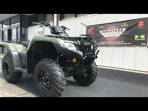 2021 Honda FourTrax Rancher 4x4 in Greenville, North Carolina - Video 1