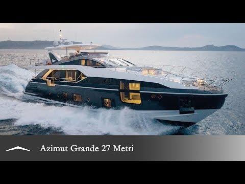 Azimut Grande 27 METRI video