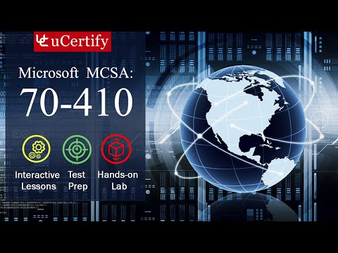 Microsoft MCSA: 70-410 Complete (Course & labs) - YouTube