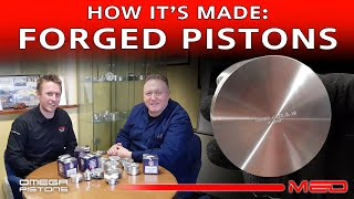 How it's made - Omega forged pistons - Part 3
