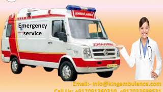 Quick Ambulance Service in Kankarbagh and Danapur by King Ambulance