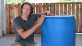 Building a Rain Barrel – Easy as 1, 2, 3