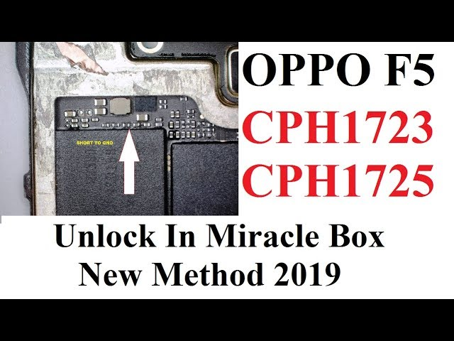 Oppo A83,F5, F5 Youth, A30 Format Unlock By TP Method Using