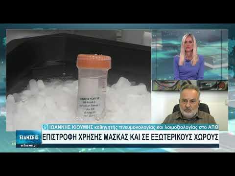 Ιωαν. Κιουμής: Τα αντισώματα του εμβολίου παραμένουν στο σώμα για εννέα μήνες | 22/08/2021 | ΕΡΤ