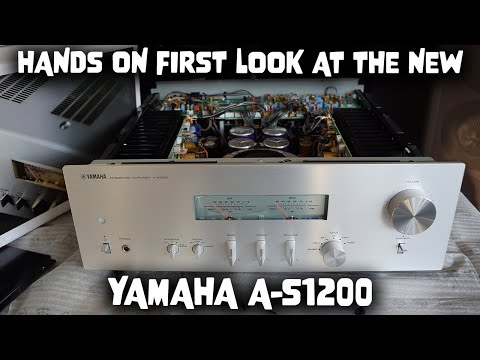 External Review Video K2rpnCtTyd4 for Yamaha A-S1200 Integrated Amplifier