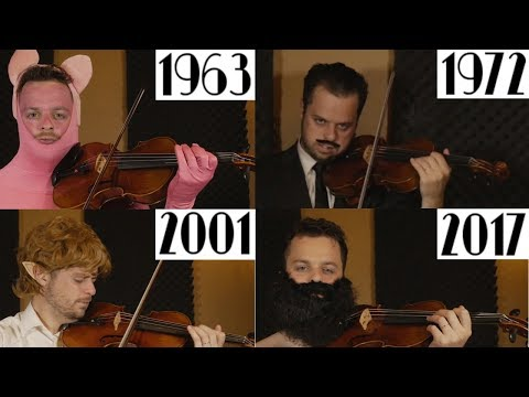 Evolution Of Movie Music | 1939-2017
