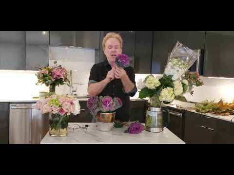 Kale Kale Kale! Floral Design With Michael Gaffney - YouTube