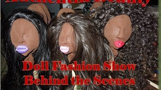 Handmade Fabric Dolls - Authentik Beauty Doll Crafts -  Behind The Scenes Pa