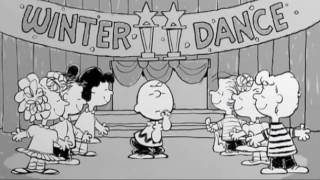 "Music Video: Charlie Brown dancing to the tune ""Let's Hear It For The Boy"""