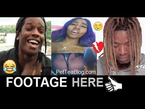 Asap Rocky saying he Smashed Fetty Wap girlfriend Blu FIRST !?! 🤔🕵👀💔
