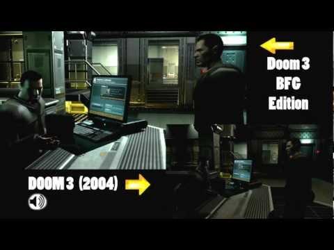 Doom 3 Bfg Edition Vs Pc Comparison Gameplay Max Settings Hd