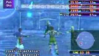 Blitzball special shots (FFX)