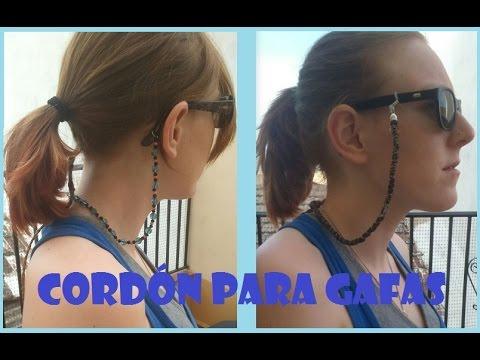 0358fa7024 Cordón para gafas DIY | Manualidades
