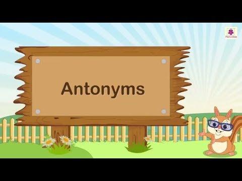 विलोम शब्द | बच्चों के लिए शब्द के विपरीत | अंग्रेजी व्याकरण | एक प्रकार की वनस्पति