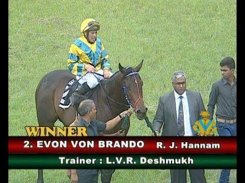 Evon Von Brando With R J Hannam Up Wins The Noble Quest Plate Div-1 2018