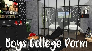 The Sims 4: Speed Build - BOYS DORM ROOM+ CC List