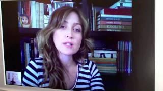 Interview de Sasha Alexander via SKYPE - P1 (2010)